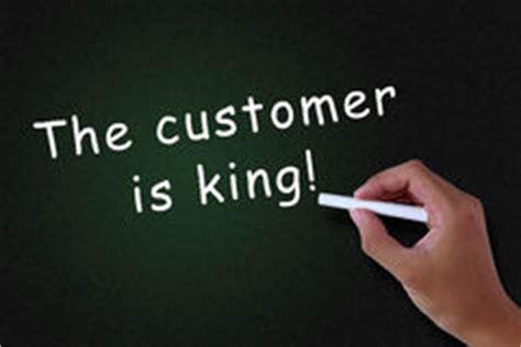 Essay customer is a king